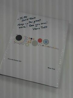 ミナのブログ本だ!